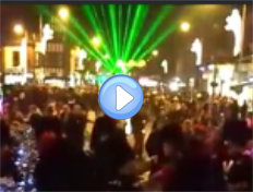 Laser show by Lasersound