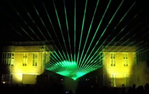 Laser light show by Lasersound